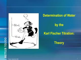 Determination of Water by the Karl Fischer Titration: Theory