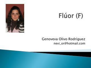 Fl�or (F)