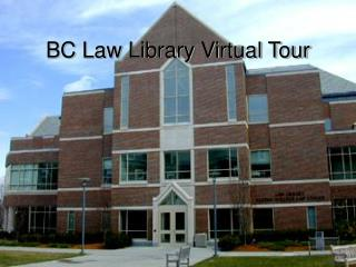 BC Law Library Virtual Tour