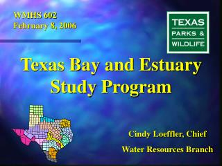 Texas Bay and Estuary Study Program