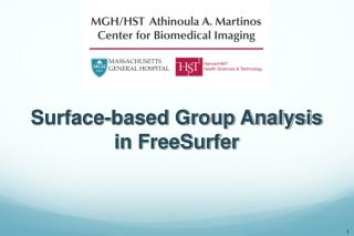 Surface-based Group Analysis in FreeSurfer