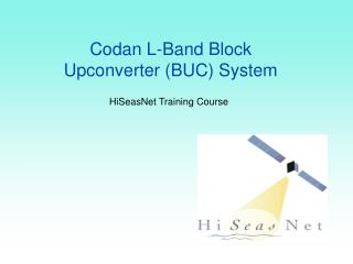 Codan L-Band Block Upconverter (BUC) System