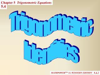 MATHPOWER TM  12, WESTERN EDITION