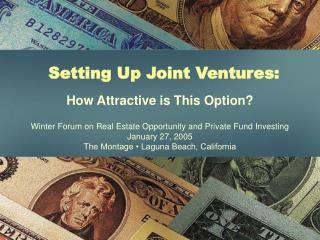 Setting Up Joint Ventures: