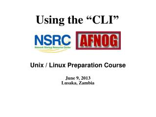 "Using the  "" CLI """