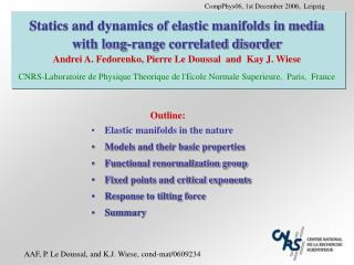 Statics and dynamics of elastic manifolds in media with long-range correlated disorder