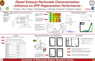 Diesel Exhaust Particulate Characterization - Influence on DPF Regeneration Performance -