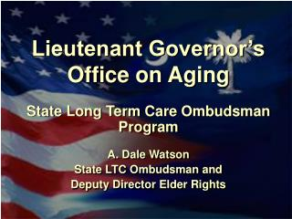 Lieutenant Governor�s Office on Aging
