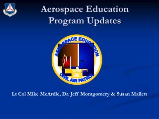 Aerospace Education  Program Updates