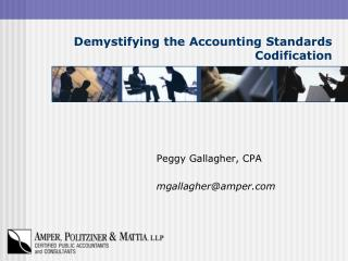 Demystifying the Accounting Standards Codification