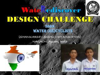 Wate R ediscover DESIGN CHALLENGE