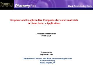 Graphene and Graphene-like Composites for anode materials  in Li-ion battery Applications