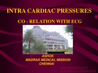 CO - RELATION WITH ECG