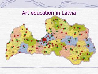 Art education in Latvia