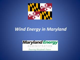 Wind Energy in Maryland
