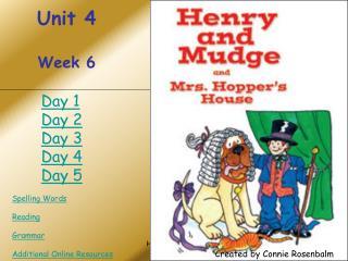 Unit 4 Week 6
