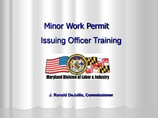 Minor Work Permit
