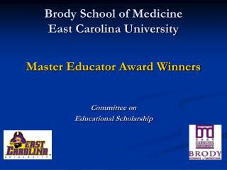 Brody School of Medicine East Carolina University