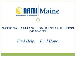 National Alliance on Mental Illness of Maine