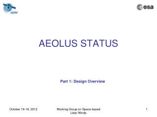 AEOLUS STATUS