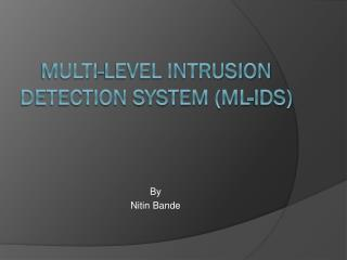 Multi-Level Intrusion Detection System (ML-IDS)