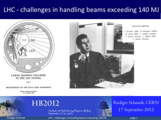 LHC - challenges in handling beams exceeding  140  MJ