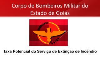 Corpo de Bombeiros Militar do Estado de Goiás