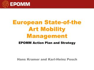 European  State-of-the Art Mobility Management