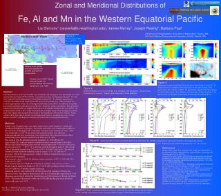 Fe, Al and Mn in the Western Equatorial Pacific