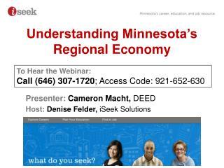 Understanding Minnesota's Regional Economy