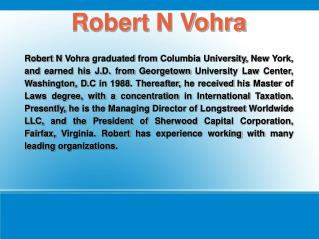 Robert Vohra
