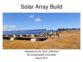 Solar Array Build