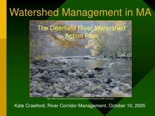 Watershed Management in MA