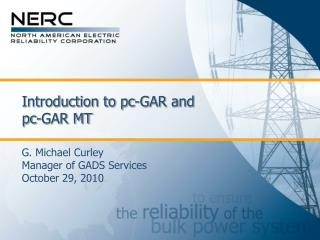 Introduction to pc-GAR and  pc-GAR MT