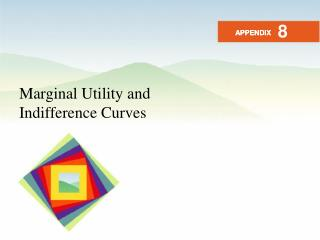 Marginal Utility and Indifference Curves