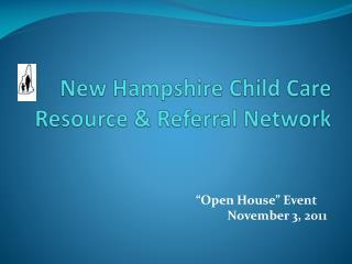 New Hampshire Child Care Resource & Referral Network