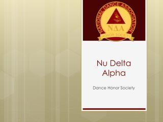 Nu Delta Alpha