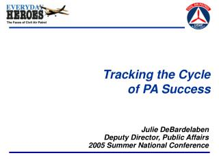 Tracking the Cycle of PA Success