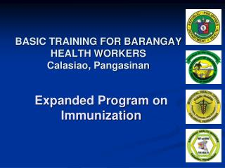 BASIC TRAINING FOR BARANGAY HEALTH WORKERS  Calasiao, Pangasinan