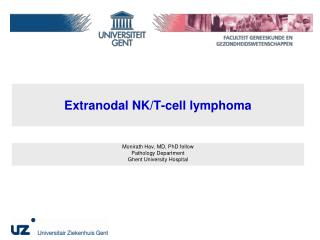 Extranodal NK/T-cell lymphoma