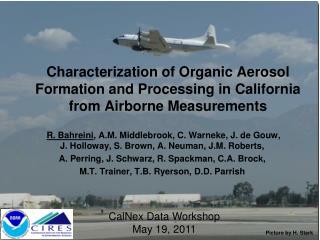 CalNex Data Workshop May 19, 2011