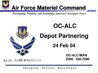 OC-ALC Depot Partnering 24 Feb 04