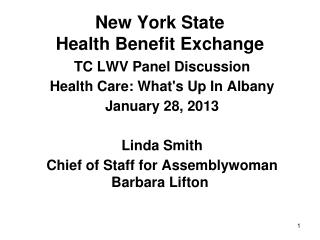 New York State Health Benefit Exchange