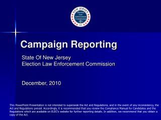 Campaign Reporting