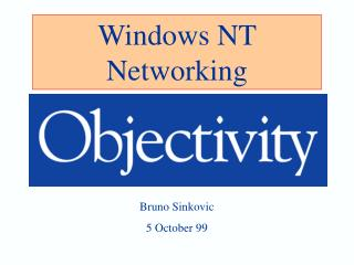 Windows NT Networking