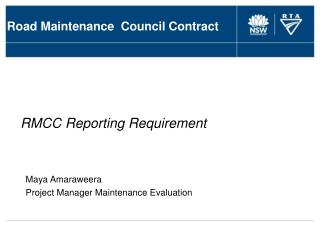 Road Maintenance  Council Contract