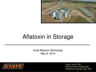 Aflatoxin  in Storage