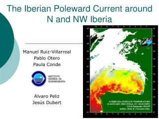 The Iberian Poleward Current around N and NW Iberia