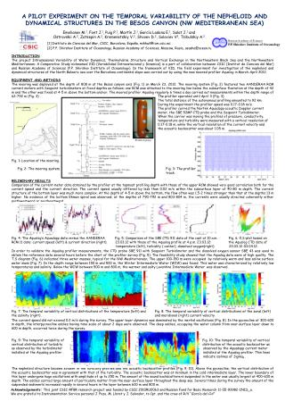 [1] Instituto de Ciencias del Mar, CSIC, Barcelona, España, mikhail@icm.csic.es;