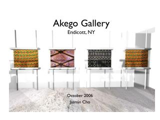 Akego Gallery Endicott, NY